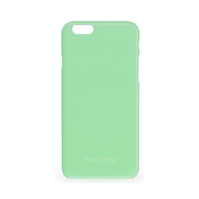 Obal Happy Plugs Ultra Thin iPhone 6 zelený Obal, plastový, pro Apple iPhone 6, zelený