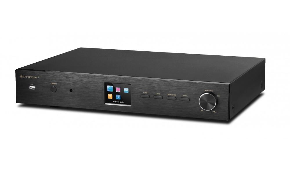 Rádio Soundmaster IR43DAB Rádio, internetové, DAB+/FM, DLNA, WIFI, DO, USB, 2.4 TFT displej, 802.11a/b/g/n IR43DAB
