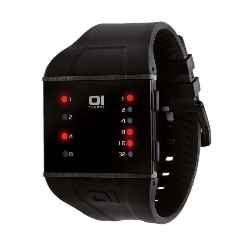 Binární hodinky The One SLS202R3 Binární hodinky, ocel, kaučuk, unisex SLS202R3