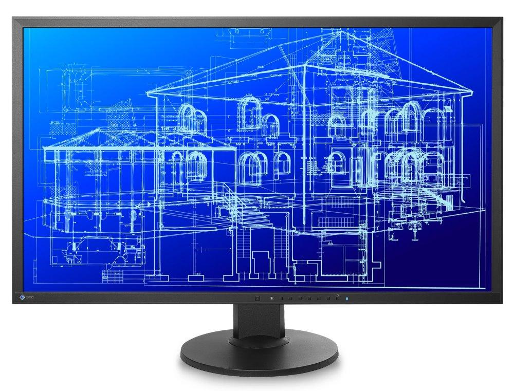 LED monitor EIZO EV3237-BK 32 LED monitor, 3840x2160, IPS, UHD 4K, 5ms, 300cd/m2, 2x DP, HDMI, DVI, USB, Repro, VESA, černý EV3237-BK