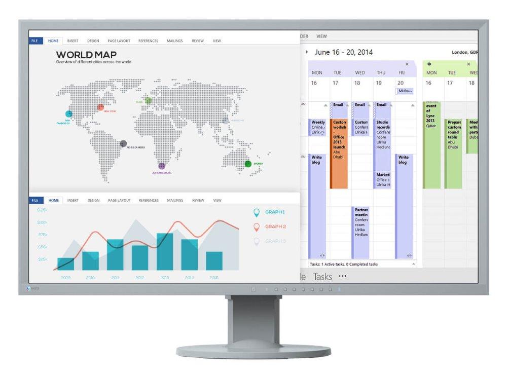 LED monitor EIZO EV3237-GY 32 LED monitor, 3840x2160, IPS, UHD 4K, 5ms, 300cd/m2, 2x DP, HDMI, DVI, USB, PIVOT, Repro, VESA, šedý EV3237-GY