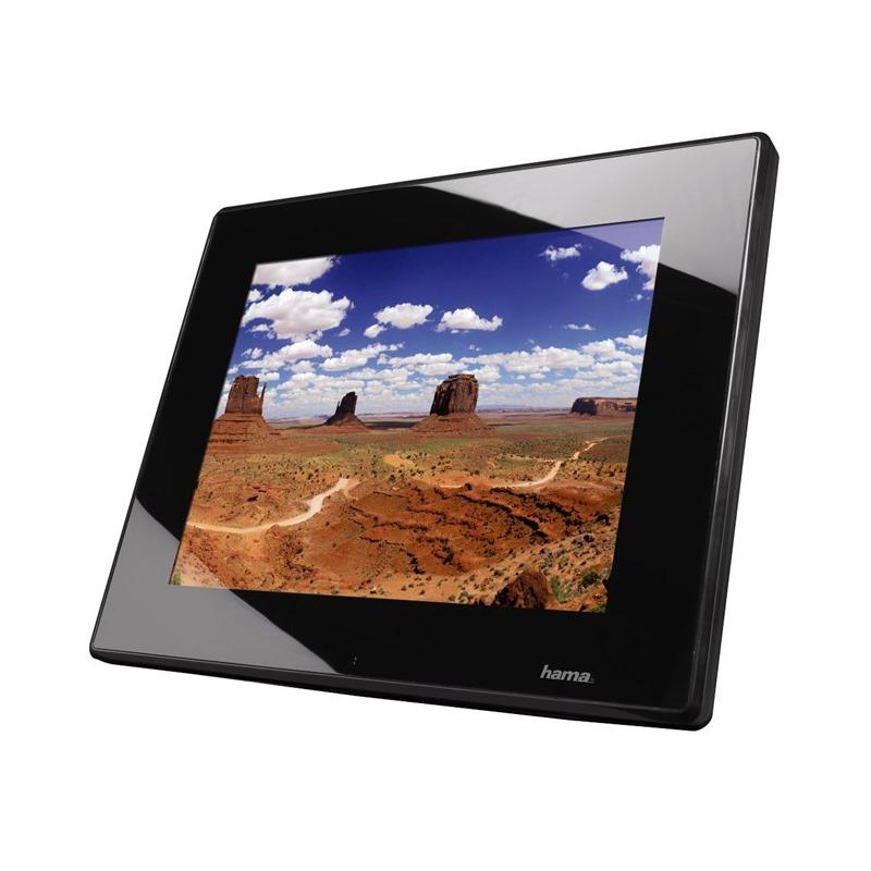 Digitální fotorámeček HAMA Premium Slimline Digitální fotorámeček, LED, 30,73 cm 12,1, 4:3, 4GB, SD/SDHC/MMC, černý 95296
