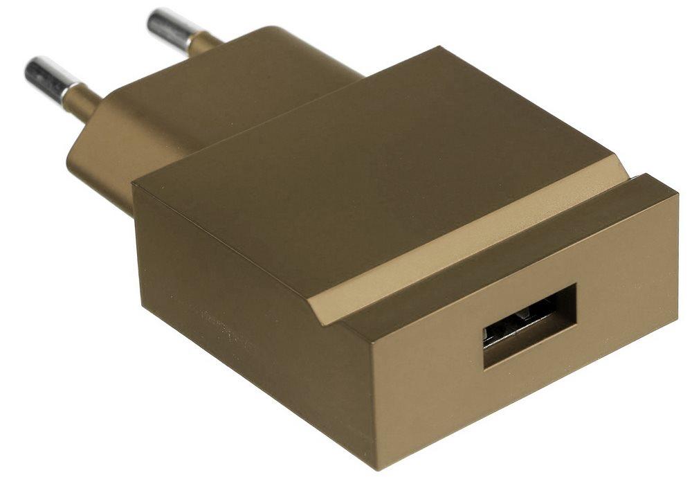 Nabíječka usbepower POP  Nabíječka, USB, barva šampaňského