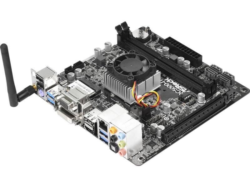 Základní deska ASRock QC5000-ITX/WiFi Základní deska, A4-5000, integrovaný AMD Radeon HD 8330, DDR3 1600, mini-ITX - OPRAVENÉ MBAR5085V