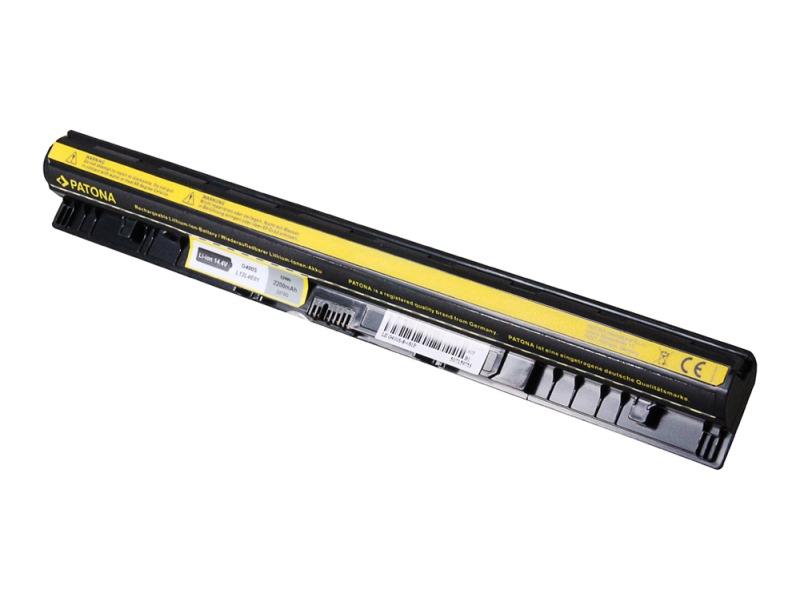 Baterie PATONA pro LENOVO 2200 mAh Baterie, pro notebook LENOVO IdeaPad G400s, G405s, G410s, G500, G505s, G10s, S410p, S510, Z501, S600, Z710, Z710, 2200mAh, Li-Ion, 14,8V PT2378