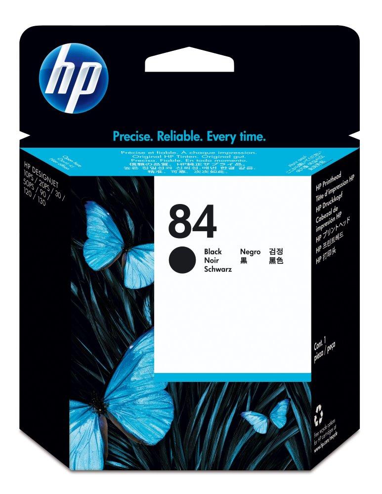 Cartridge inkoustová náplň HP 84 HP C5019A - tisk. hlava černá C5019A