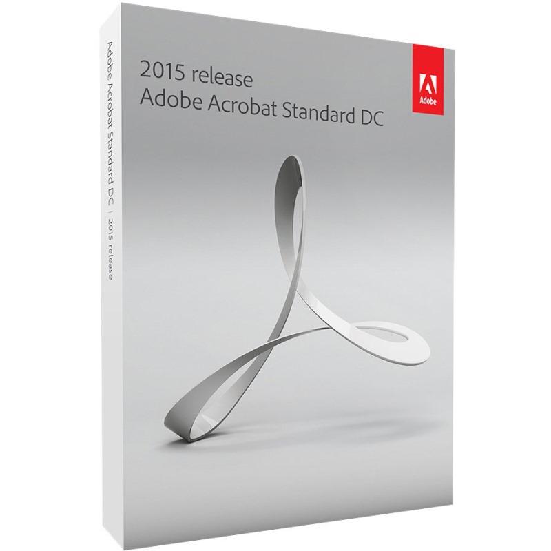Software ADOBE Acrobat Standard DC 12 Software, CZ verze, pro WIN, Upgrade z verzí 10 a 11 Box 65257558