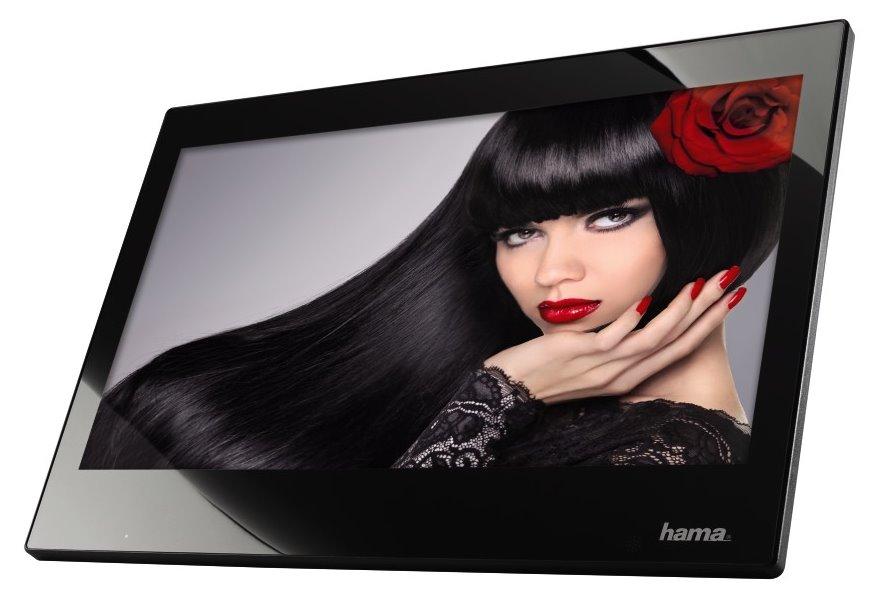 Digitální fotorámeček HAMA 133SLPFHD Digitální fotorámeček, LED, slim, 33,80 cm 13,3, 16:9, 4GB, SD,SDHC,MMC, HDMI, černý 118572