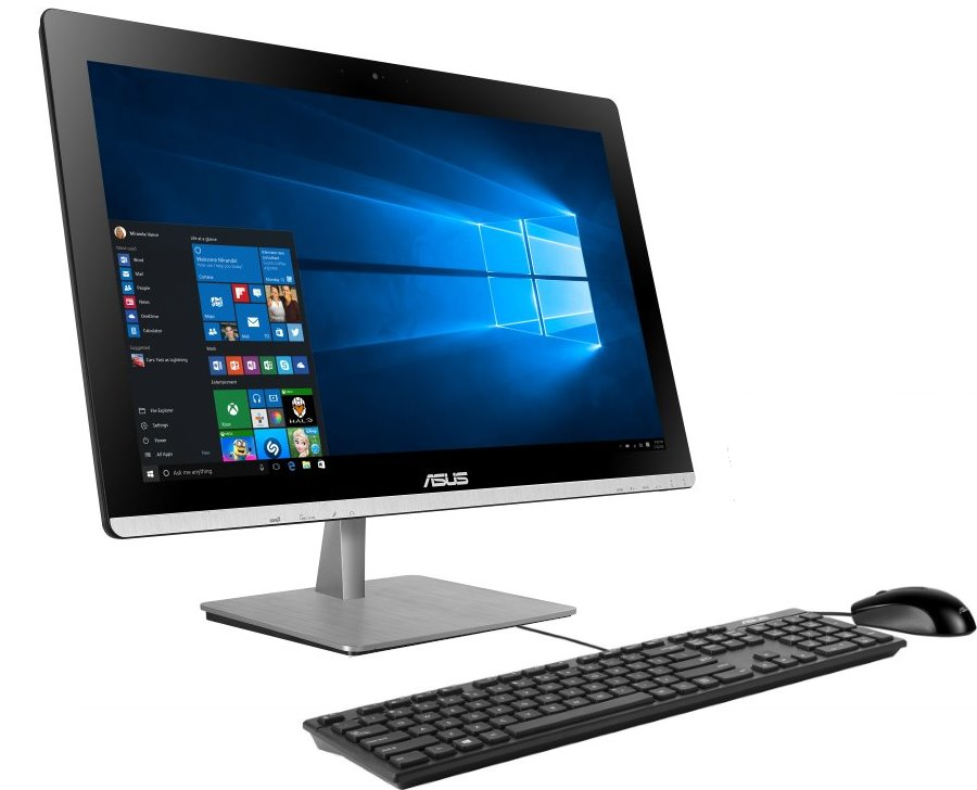 All-in-one počítač ASUS Vivo AIO V230ICGT-BF030X All-in-one počítač, 23 FHD IPS Touch, i7-6700T, 8GB, 2TB-7200, GT930M 2GB, DVD-RW, WIFI + BT, W10, černý V230ICGT-BF030X