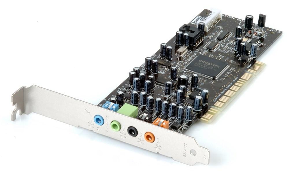 Zvuková karta Creative Sound Blaster AUDIGY SE Zvuková karta, interní, PCI, bulk balení 30SB057000000