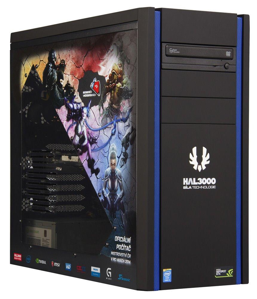 HAL3000 herní sestava MČR V2