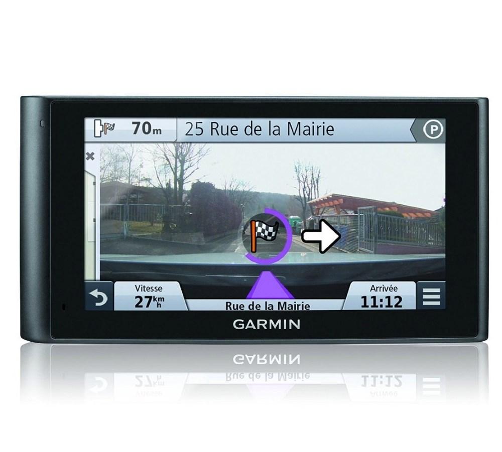 Autonavigace GARMIN nüviCamT Lifetime Europe45 Autonavigace, s integrovanou kamerou, 6,1 displej, mapa 45 zemí Evropy CityNavigator Europe, doživotní aktualizace 010-01378-03