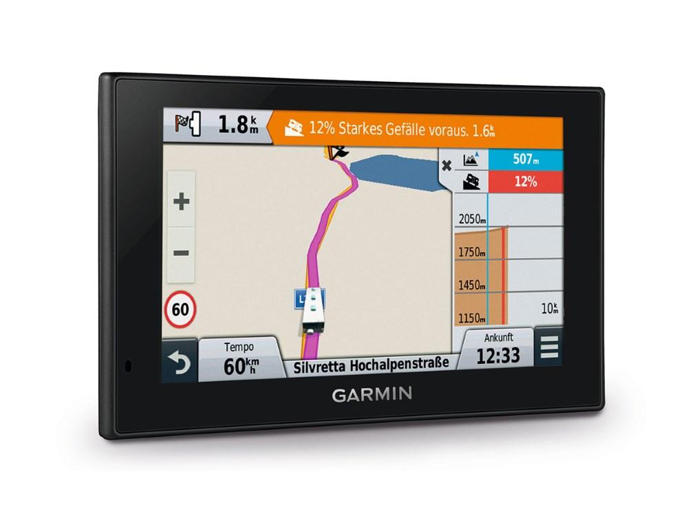 Autonavigace GARMIN Camper 660T-D Europe45 Bundle Autonavigace, 6 displej, couvací kamera, mapa 45 zemí Evropy CityNavigator Europe, doživotní aktualizace 010-01535-02