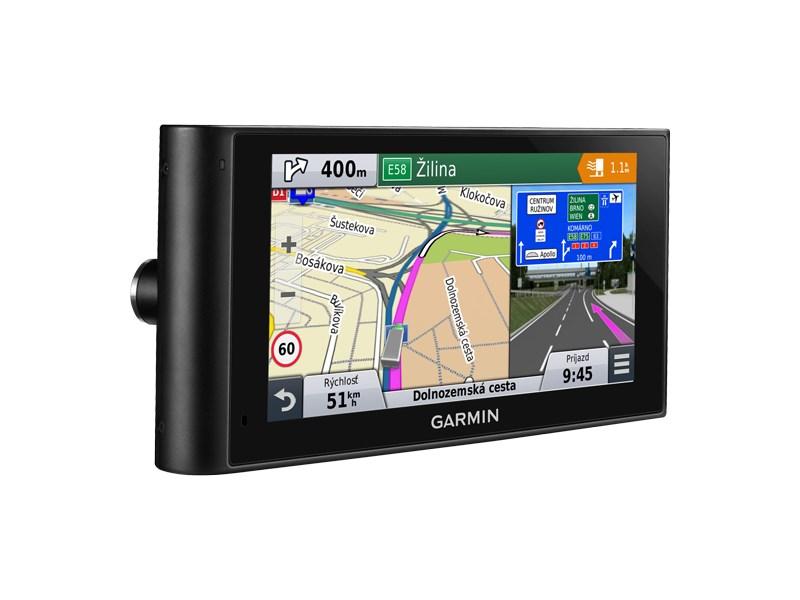 Autonavigace GARMIN dezlCamT Lifetime Europe45 Autonavigace, pro nákladní vozy s integrovanou kamerou, 6 displej, mapa 45 zemí Evropy CityNavigator Europe, doživotní aktualizace 010-01457-11