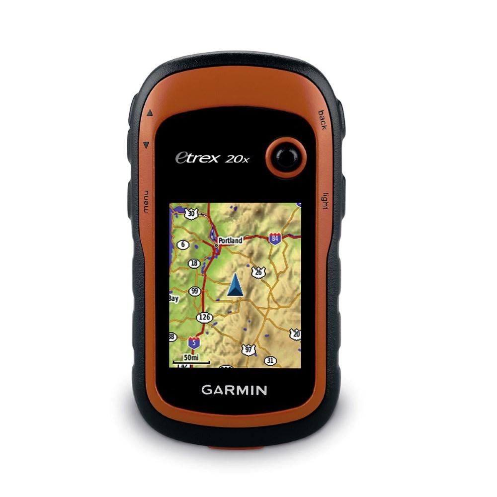 Turistická navigace GARMIN eTrex 20x Turistická navigace, ruční, 2,2 displej, mapy západní Evropy 010-01508-05
