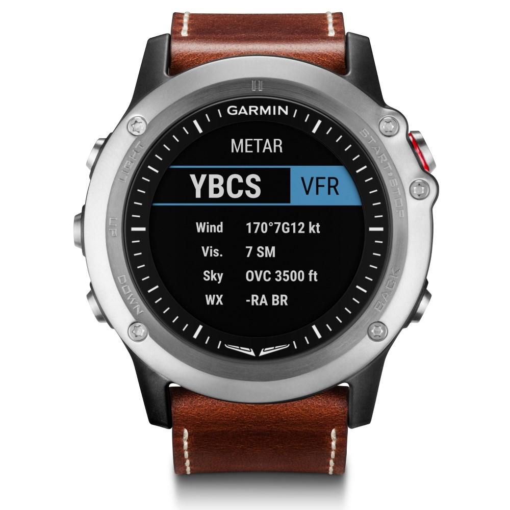 Chytré hodinky Garmin D2 Bravo Chytré hodinky pro piloty, GPS, Bluetooth, ANT+, WiFi, barometr, kompas, výškoměr 010-01338-30
