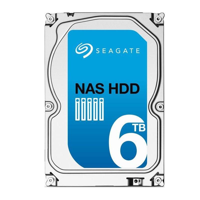 Pevný disk Seagate NAS 6TB Pevný disk, SATA600, Interní 3,5, 5900RP, 128 MB ST6000VN0021
