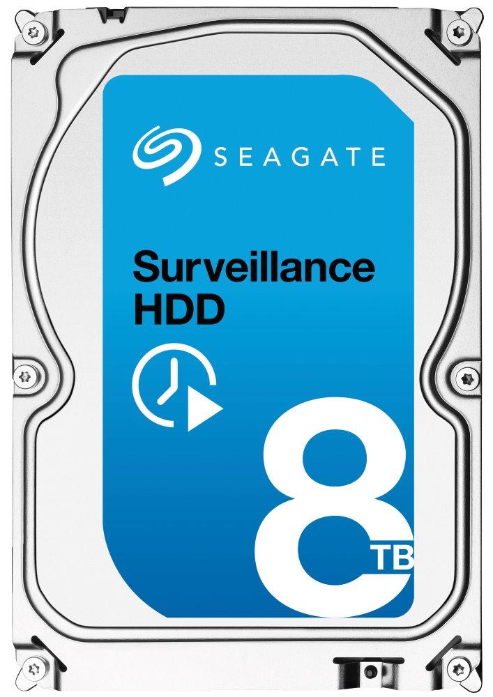 Pevný disk Seagate Surveillance 8TB Pevný disk, SATA600, Interní 3,5, 7200RPM, 256MB ST8000VX0002