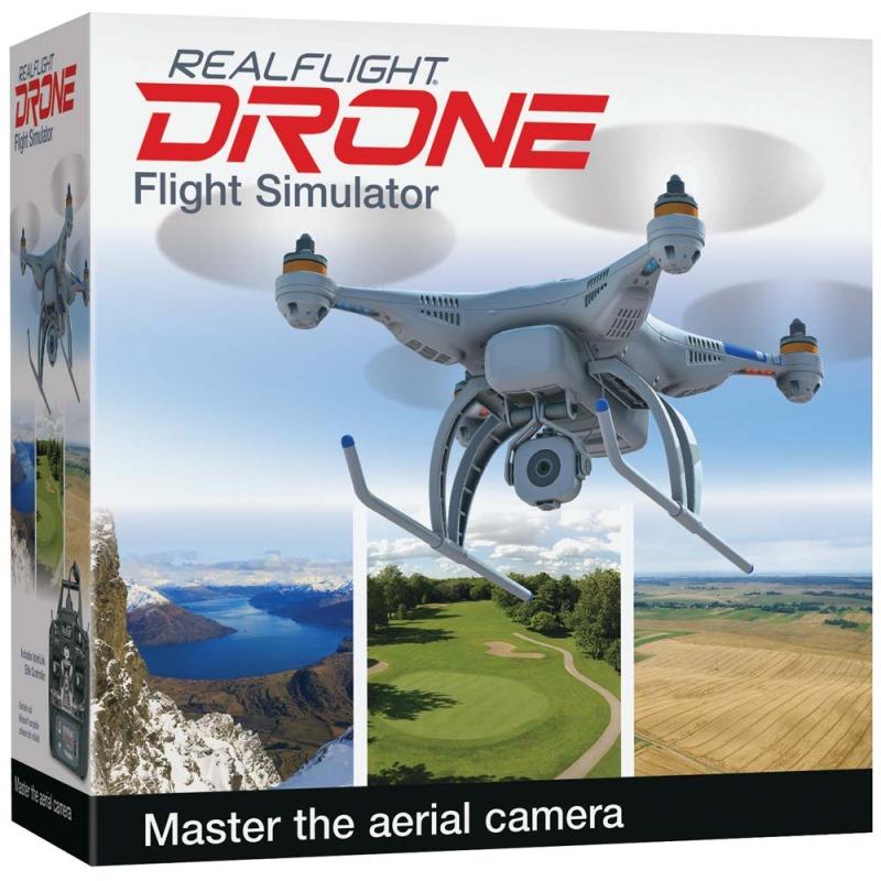 Letecký simulátor HOBBICO RealFlight Drone Edition Letecký simulátor, 15 dronů GPMZ4800