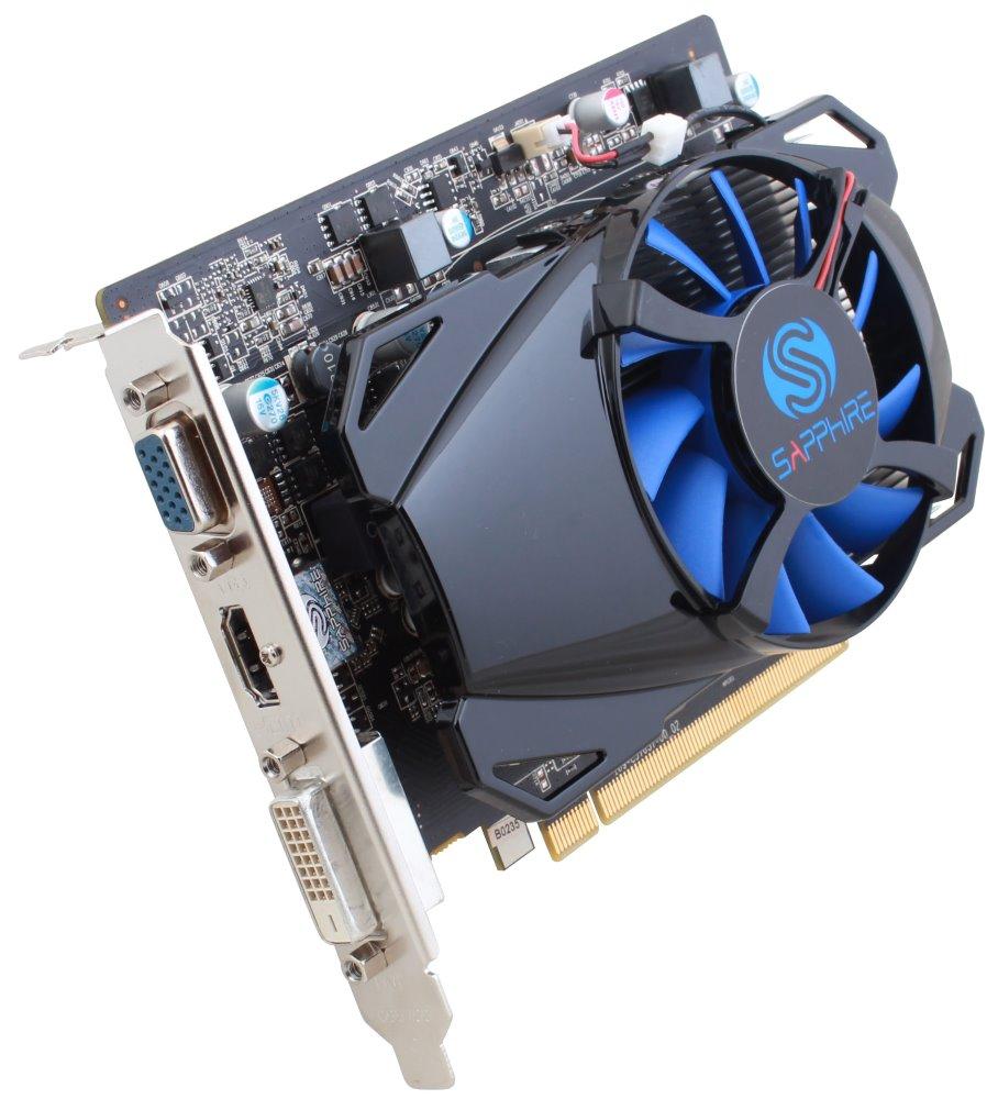 Grafická karta Sapphire Radeon R7 250 1GB Grafická karta, PCI-E, 1GB DDR5, 512SP Edition, DVI, HDMI 11215-19-20G