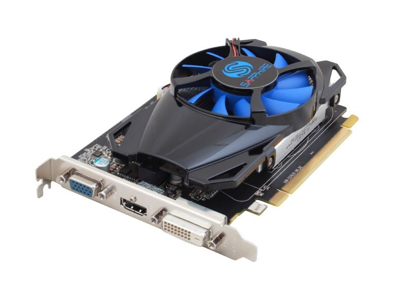 Grafická karta Sapphire Radeon R7 250 2GB Grafická karta, PCI-E, 2GB DDR5, 512SP Edition, DVI, HDMI 11215-20-20G