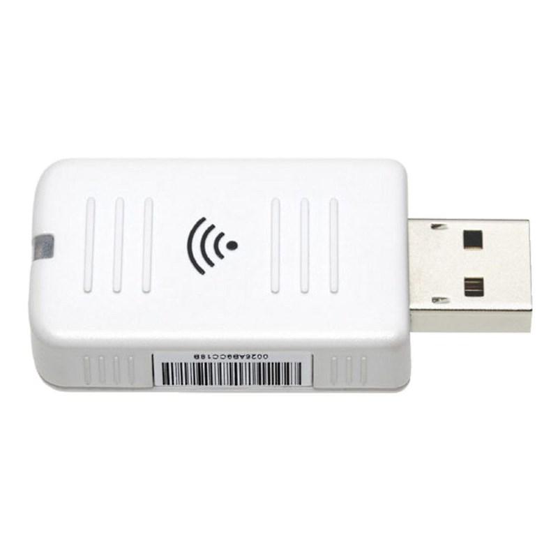 Bezdrátový modul EPSON ELPAP10 Bezdrátový modul, Wi-Fi, pro projektory Epson, 802.11b/g/n, bílý V12H731P01