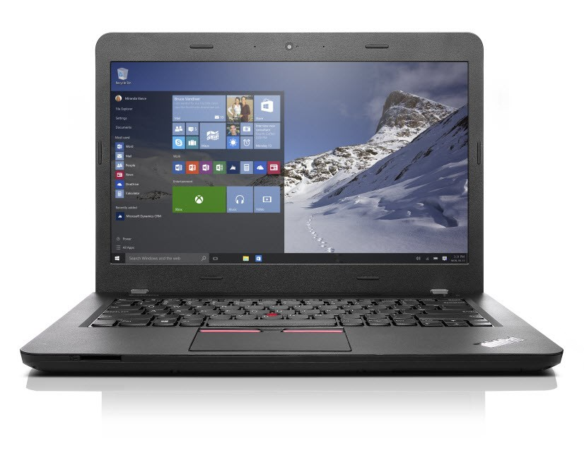 Notebook Lenovo ThinkPad E460 Notebook, i5-6200U, 4GB, 500GB-7200, 14 FHD IPS, Radeon R7 M360 2GB, W10P 64 Bit, 1yCarryIn 20ET003AMC