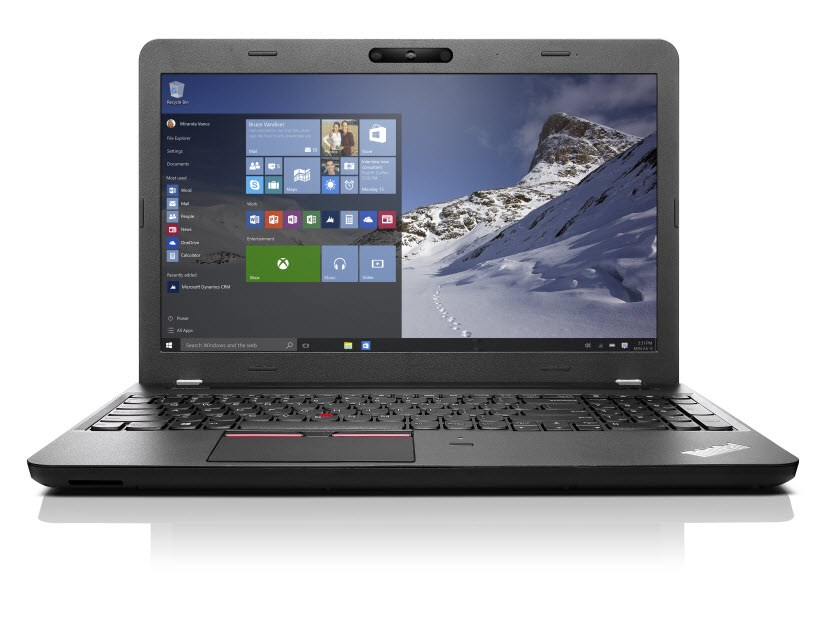 Notebook Lenovo ThinkPad E560 Notebook, i5-6200U, 4GB, 500GB-7200, 15,6W FHD IPS, Intel HD 5200, 3Dcam, DVDRW, W10 Home 64Bit, 1yCarryIn 20EV0012MC