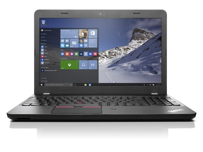Notebook Lenovo ThinkPad E560 Notebook, i5-6200U, 4GB, 500GB-7200, 15,6W HD, Intel HD 5200, DVDRW, W7P+W10P 64bit, 1yCarryIn 20EV000UMC