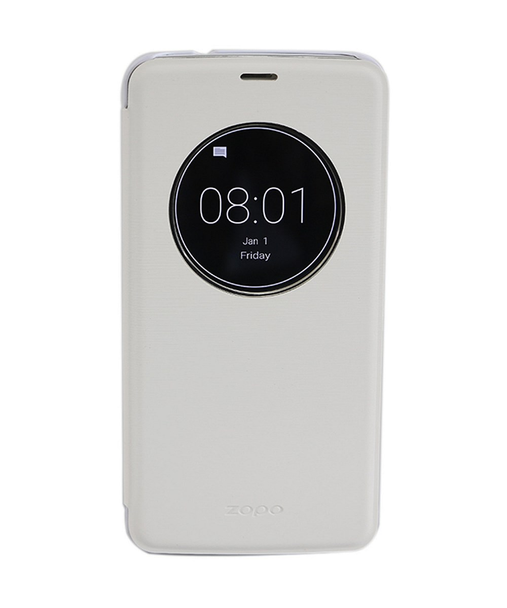 Pouzdro pro ZOPO ZP951 Speed 7 bílé Pouzdro, pro mobilní telefon Zopo ZP951 Speed 7, flipové, S-view, bílé ZOPOFLIP952WH