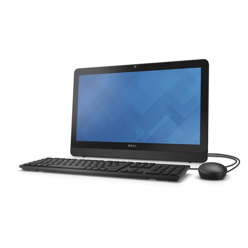 All-in-one počítač DELL Inspiron 20 3000 All-in-one počítač, i3-6100U, 4GB, 1TB, AMD R5 A335 2GB, 19,5 HD+, DVDRW, WiFi, W10, 2YNBD on-site D4-3059-N2-311K