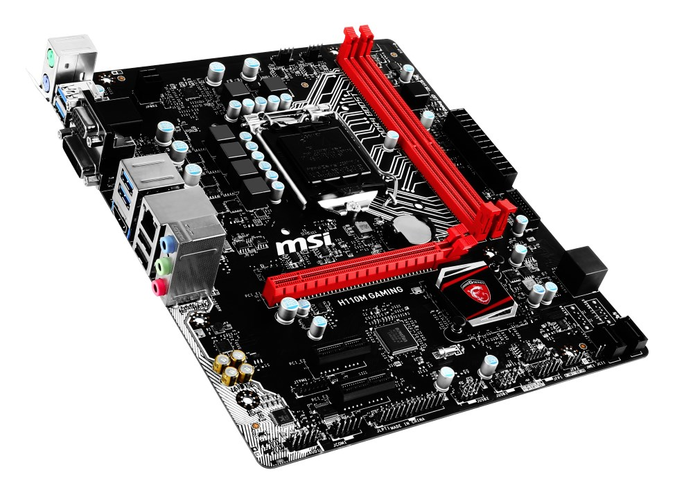 Základní deska MSI H110M GAMING Základní deska, Intel H110, LGA1151, mATX H110M GAMING