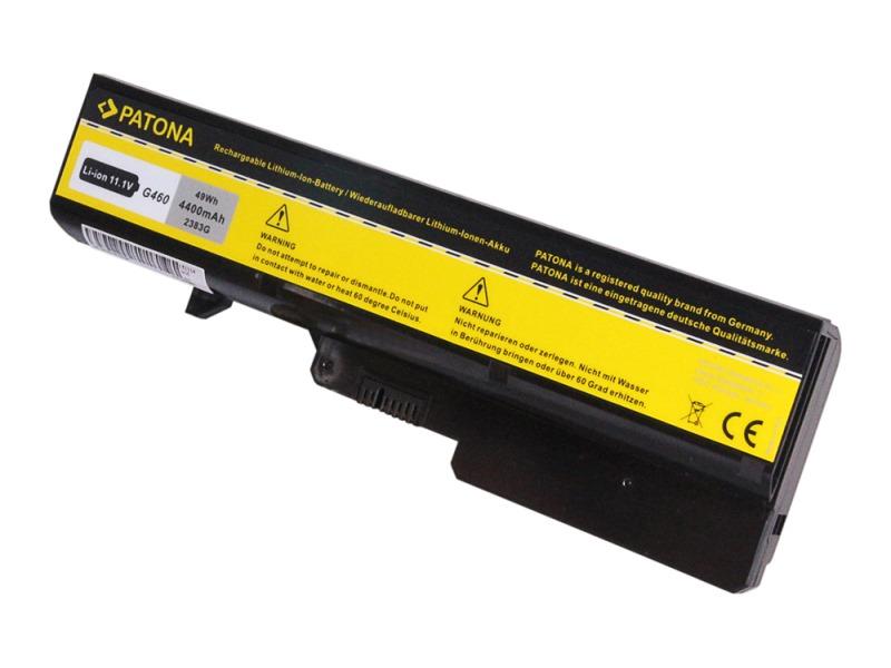 Baterie PATONA pro Lenovo 4400 mAh Baterie, pro notebook LENOVO IdeaPad G560, 4400 mAh, Li-Ion, 11,1 V PT2383