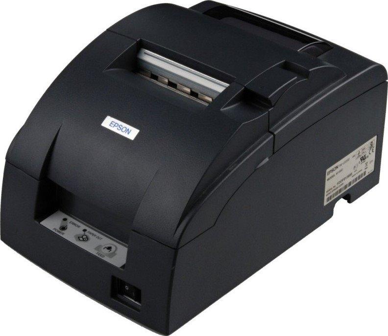 Pokladní tiskárna EPSON TM-U220D-052 Pokladní tiskárna, serial, včetně zdroje, černá C31C515052