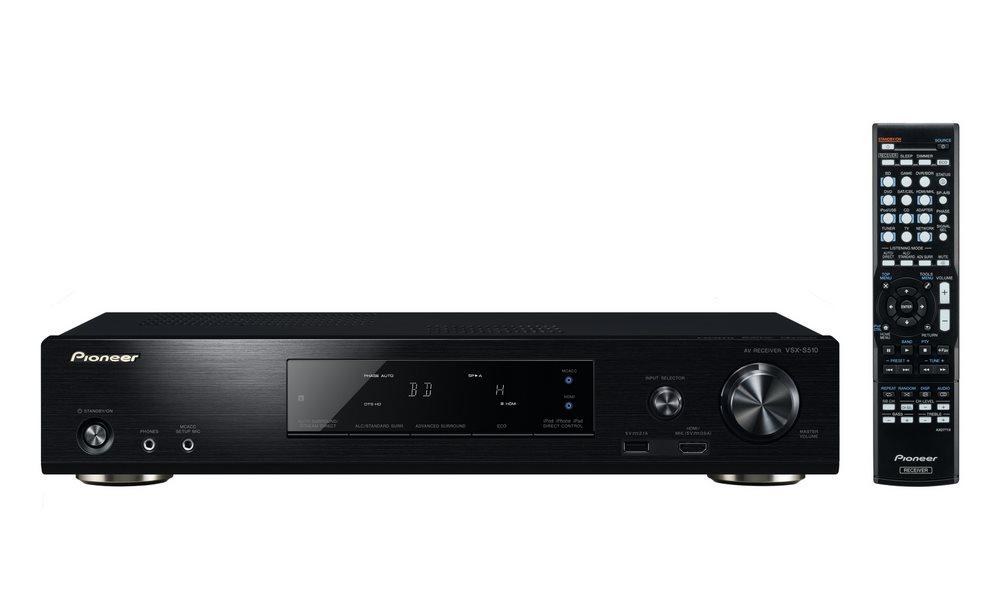 AV přijímač Pioneer VSX-S510-K AV přijímač, 6.2, 110W, černý VSX-S510-K