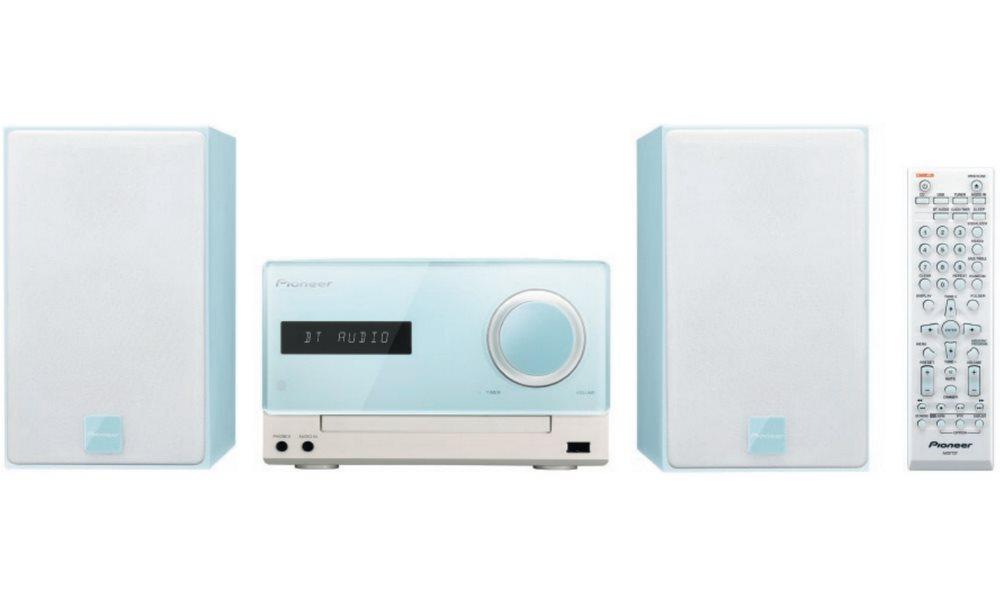 Mikrosystém PIONEER X-CM35-L Mikrosystém, 30W, CD, Bluetooth, NFC, modrý X-CM35-L