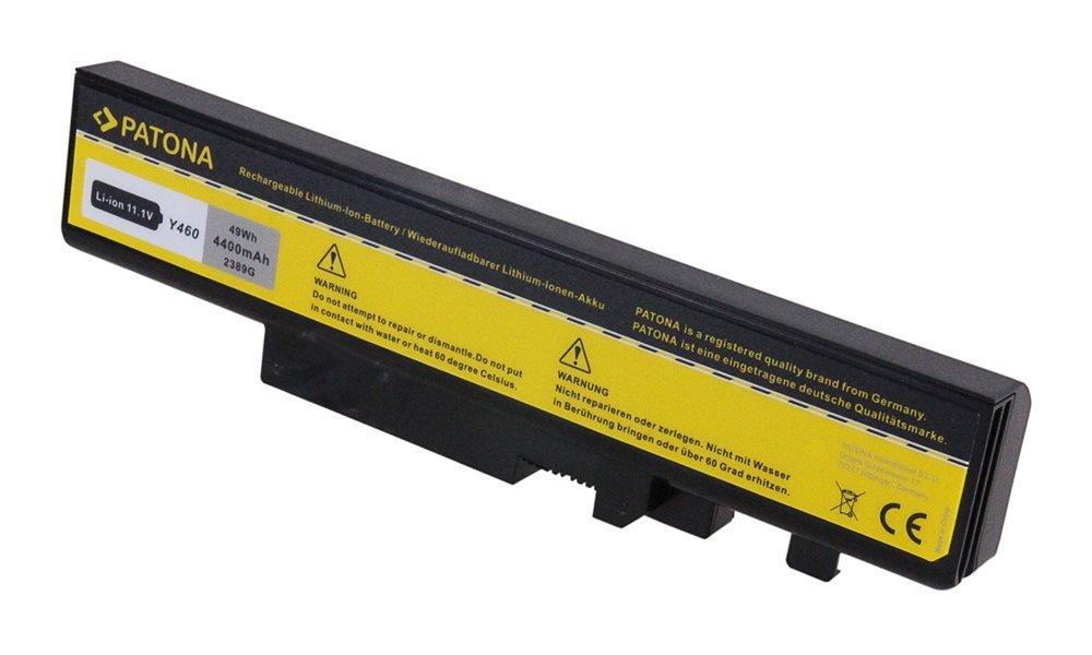 Baterie PATONA pro Lenovo 4400 mAh Baterie, pro notebook LENOVO B560, 4400mAh, Li-Ion, 11,1V, Y460 PT2389