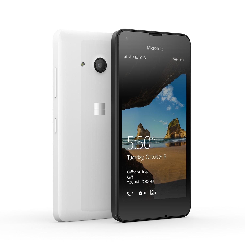 Mobilní telefon Microsoft Lumia 550 Mobilní telefon, dotykový, 4,7, HD, 1GB RAM, 8GB, LTE, Win10, bílá A00026253