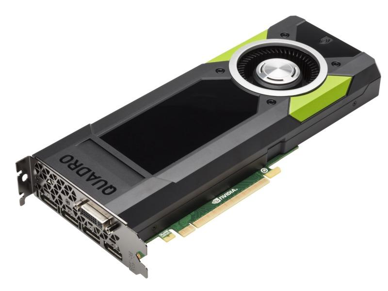 Grafická karta HP NVIDIA Graphics Quadro M5000 Grafická karta, PCI-E, 8GB, 4x DP, 1x DVI M6V53AA