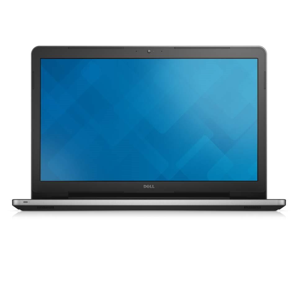 Notebook DELL Inspiron 17 5000 Notebook, i5-6200U, 8GB, 1TB, DVDRW, AMD R5 M335 4GB, 17.3 FHD, W10, stříbrný, 2YNBD on-site N4-5759-N2-511S