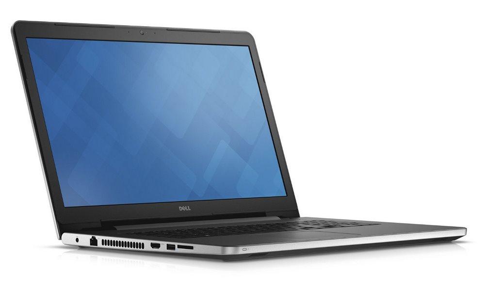 Notebook DELL Inspiron 17 5000 Notebook, i5-6200U, 8GB, 1TB, DVDRW, AMD R5 M335 2GB, 17.3 HD+, W10, bílý, 2YNBD on-site N4-5759-N2-512W