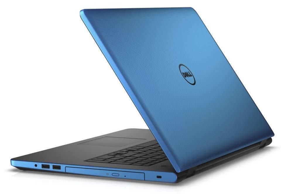 Notebook DELL Inspiron 17 5000 Notebook, i5-6200U, 8GB, 1TB, DVDRW, AMD R5 M335 2GB, 17.3 HD+, W10, modrý, 2YNBD on-site N4-5759-N2-512B