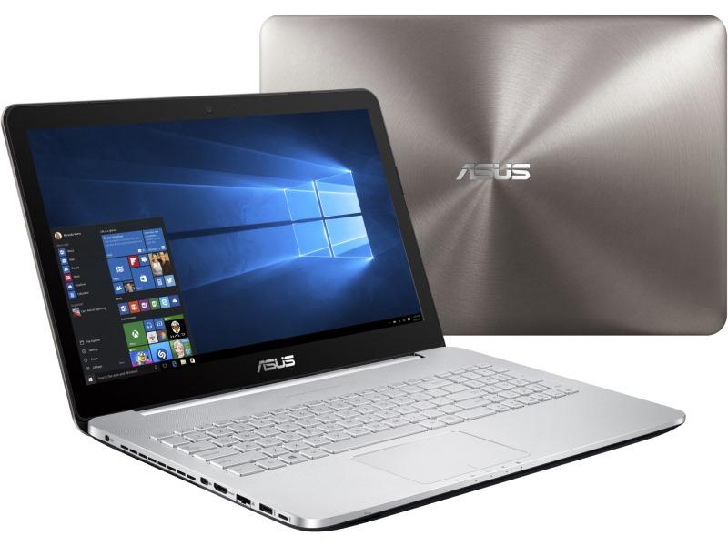Notebook ASUS N552VX-FW034T Notebook, i5-6300HQ, 8GB, 2TB-5400, 15,6 FHD IPS, DVD-RW, GTX950M 2GB, BT, W10, šedý N552VX-FW034T