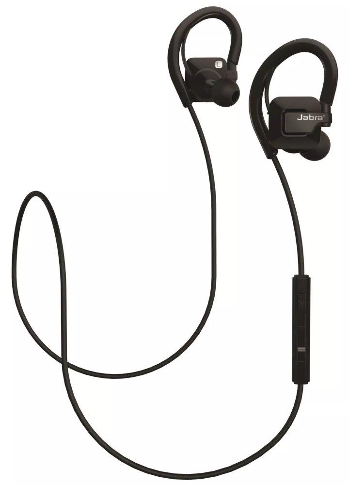 Headset JABRA Step Wireless Headset, bezdrátový, do uší, bluetooth 4.0, ovládání na kabelu, černé BLUHFPJSTEP