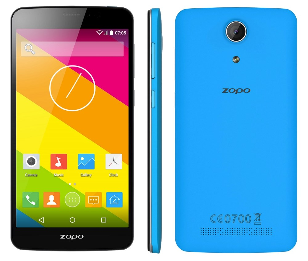 Mobilní telefon ZOPO ZP370 Color S Mobilní telefon, dotykový, 5,5 IPS, Dual SIM, 8GB, 1GB RAM, LTE, modrý ZOPOZP370BLUE