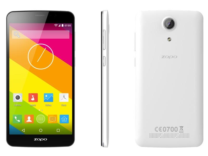 Mobilní telefon ZOPO ZP370 Color S Mobilní telefon, dotykový, 5,5 IPS, Dual SIM, 8GB, 1GB RAM, LTE, bílý ZOPOZP370WHITE