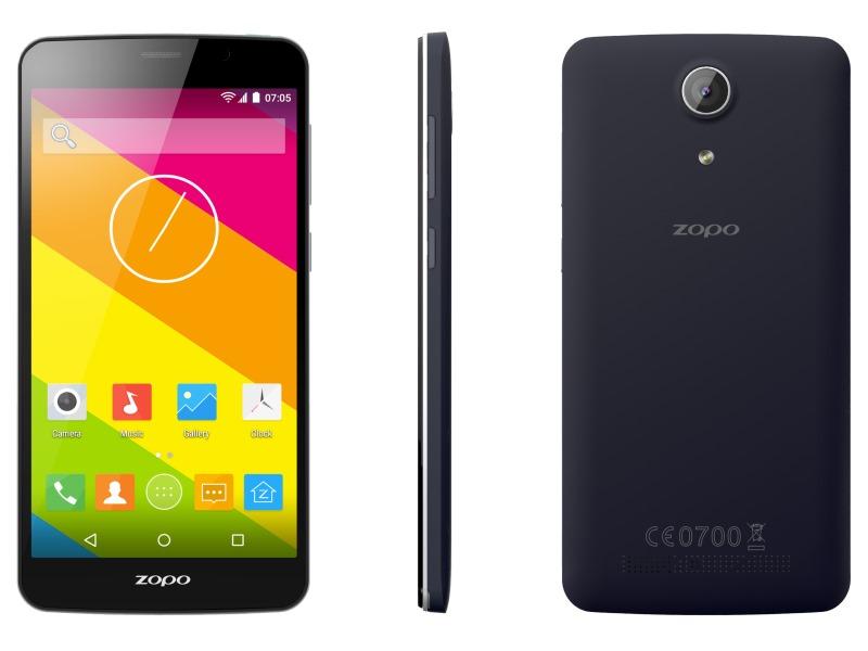 Mobilní telefon ZOPO ZP370 Color S Mobilní telefon, dotykový, 5,5 IPS, Dual SIM, 8GB, 1GB RAM, LTE, šedý ZOPOZP370GREY
