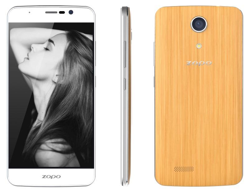 Mobilní telefon ZOPO ZP550 Speed 7C Mobilní telefon, dotykový, 5 IPS, Dual SIM, 16GB, 2GB RAM, LTE, Android 5.1, bílý ZOPOZP550WH