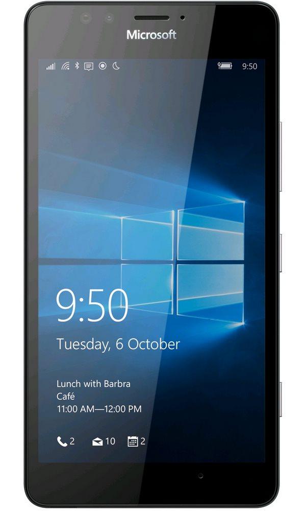Mobilní telefon Microsoft Lumia 950 Dual SIM Mobilní telefon, dotykový, 5,2 AMOLED, 3GB RAM, 32GB, Win10, bílý A00026406