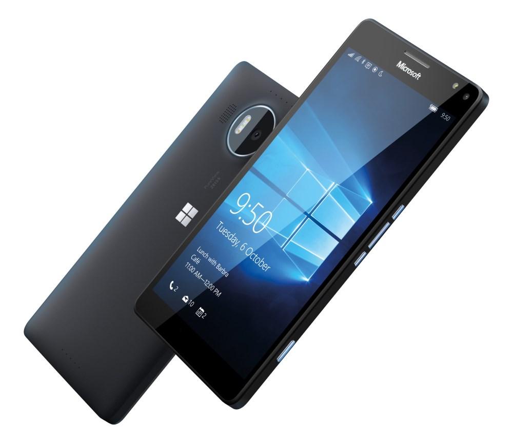 Mobilní telefon Microsoft Lumia 950 XL Mobilní telefon, dotykový, 5.7 AMOLED, 3GB RAM, 32GB, Win10, černý A00026248